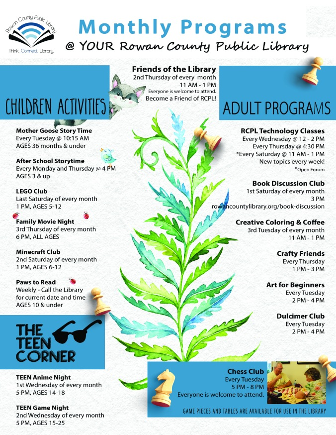 Print Monthly Programs