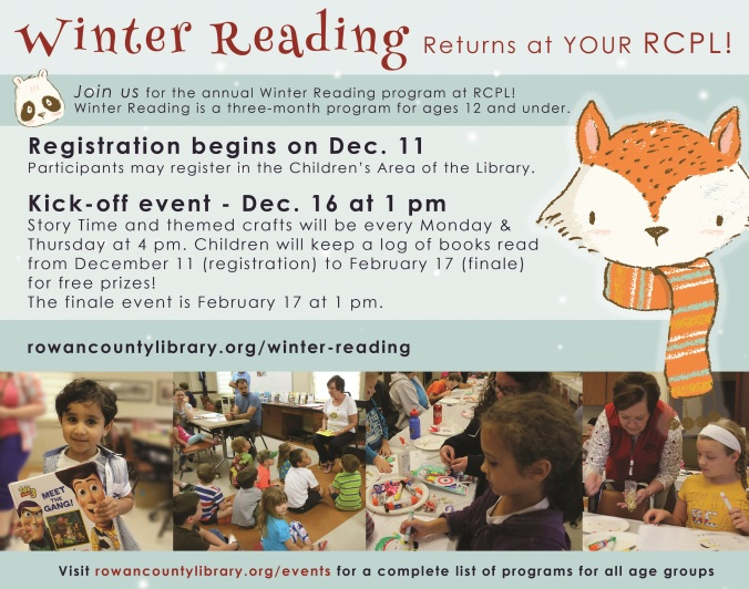 Open House & Winter Reading POSTER - Copy