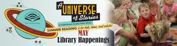 Library Happenings May Banner